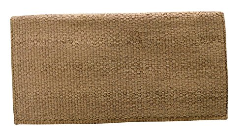 Weaver Solid New Zealand Wool Saddle Blanket – Size:36″X34″ Color:Sand