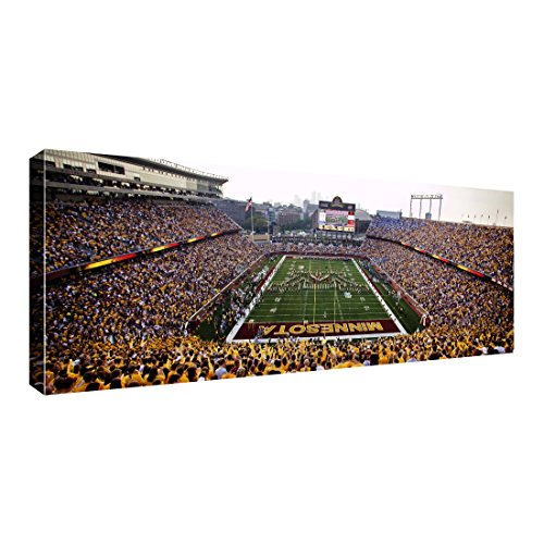 Replay Photos 124332 927Fd University Of Minnesota Tcf Bank Stadium Framed Panorama  32 5  X 14 5