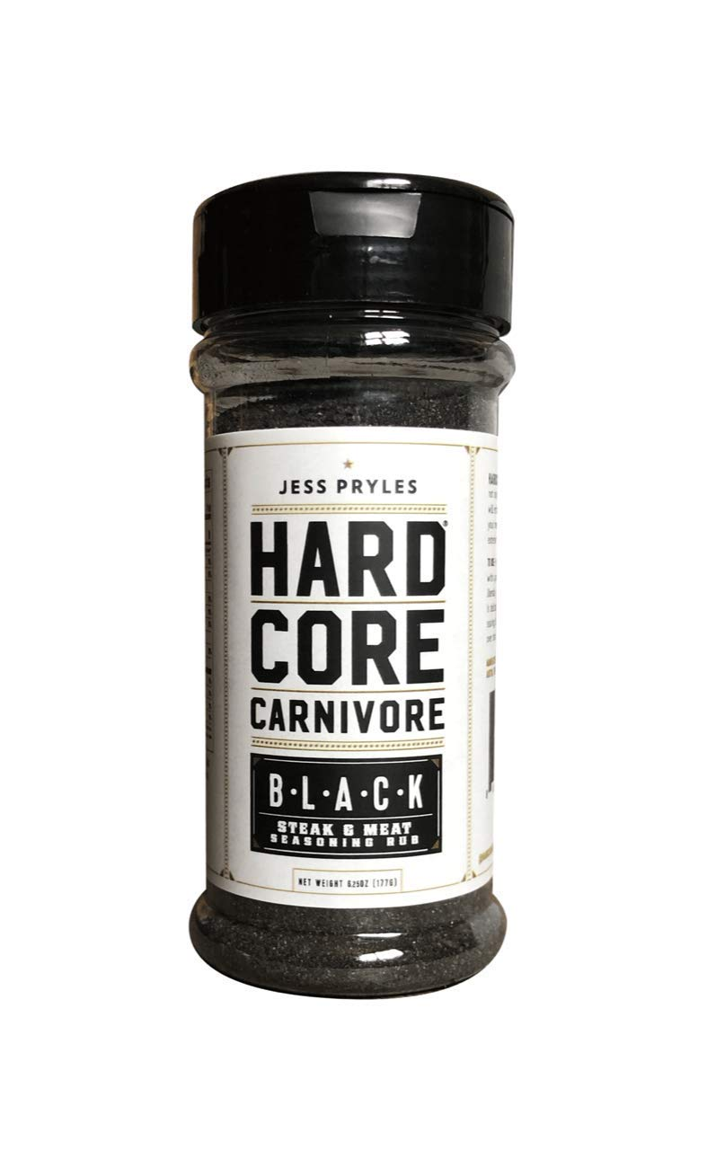 Hardcore Carnivore Black: steak, meat and BBQ seasoning