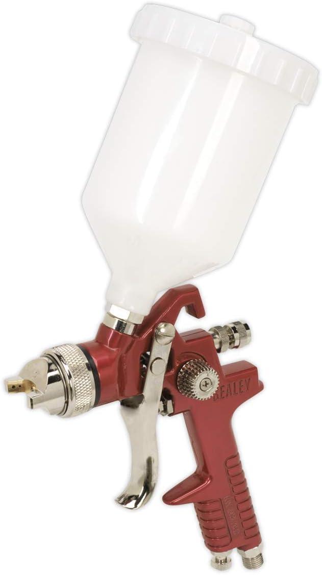 Sealey HVLP741-1,3 mm arma puesta a punto por gravedad hvlp spray de alimentación
