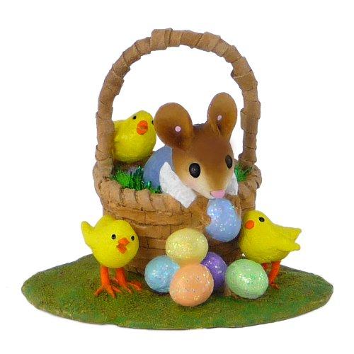 Wee Forest Folk M-504b Easter Basket Bounty (Boy)