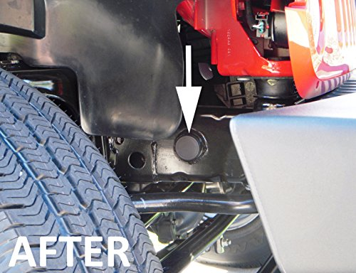 Jeep Wrangler JK Frame Hole Cover Plug Accessory Dress Up for all 2007 thru 2016 Models