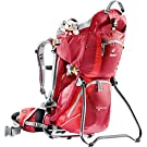 Deuter Kid Comfort II Child Carrier - Cranberry/Fire