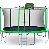 Best Trampolines - Merax 14 FT Round Trampoline with Safety Enclosure Review