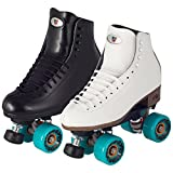 Riedell Roller 120 Celebrity (White, 7.5 Medium)
