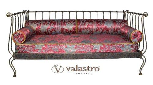 Impero valastro salotto divano letto singolo ferro battuto arredamento - Divano letto singolo in ferro battuto ...