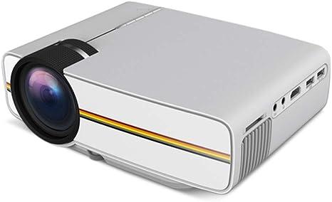 Opinión sobre QK Proyector, proyector HD 1080P Nativo, Pantalla 30-138 '', proyector de Cine casa Inteligente Compatible con USB/SD/HDMI,Blanco