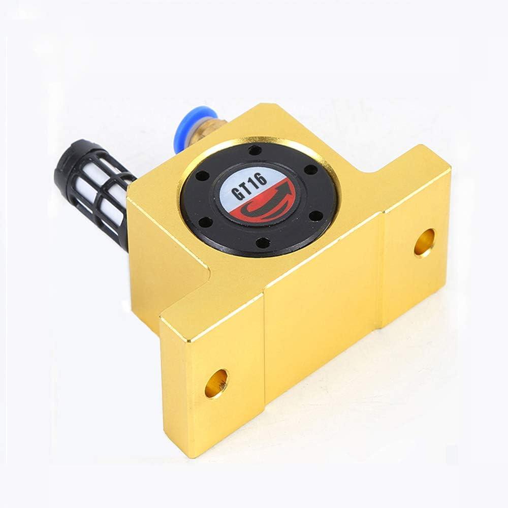 G 1//8 Pneumatic Turbine Vibrators Silent Golden Industrial Vibrator for hopper Golden GT-8 Free Muffler