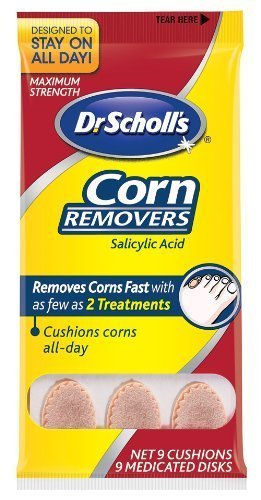 Dr. Scholl's Corn Removers, 9-Count Packages (Pack of 4)
