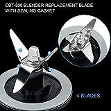Livtor Blender Blade CBT-500 & O Ring Sealing