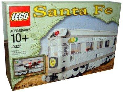 - Lego Santa Fe Car - Set II (Dining, Observation or Sleeping Car) 10022