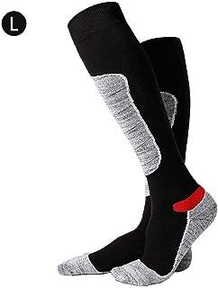 LeKing--Chaussettes de randonnée en Montagne, Automne et Hiver, Chaussettes à Long Tube en Coton, Chaussettes épaisses pour Serviettes, Chaussettes déodorantes antidérapantes et Chaudes