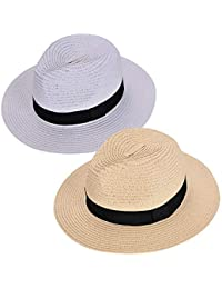df2b9df1f85be Women Straw Fedora Hat