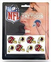 Rico NFL Washington Redskins 8 Piece Temporary Tattoos