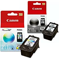 Canon PG-210 XL and CL-211 XL Ink Pack Bundle, Compatible...