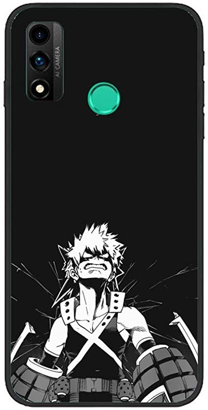 YAOYAN Black Case Soft Gel TPU Shockproof Coque for Huawei P Smart ...