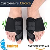 FanProd Bunion Corrector, Bunion Splint, Bunion Relief, Orthopedic Bunion Corrector, Bunion correcetor BABO Care, Bunion Brace for Women, Toe Brace,Straightener, Toe Corrector, Toe Splint.