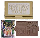 1997 Longaberger Pottery Gingerbread Holiday Home Mold