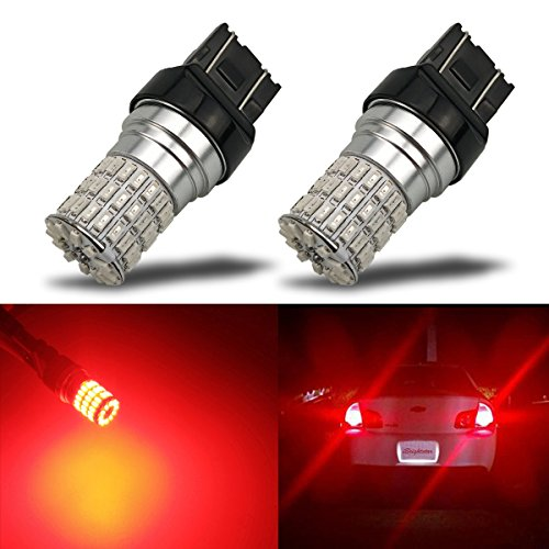 Ibrightstar Newest 9 30v Extremely Bright 7440 7441 7443 992 Led Bulbs Replacement For Tail Brake Lights Brilliant Red