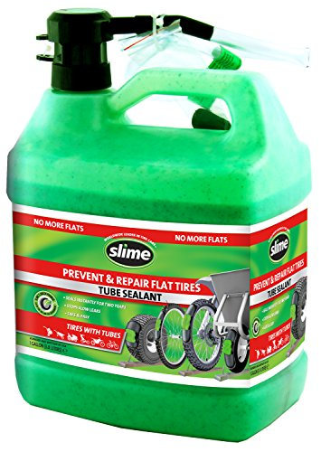 Slime 10162 Tube Tire Sealant, 1 Gallon]()