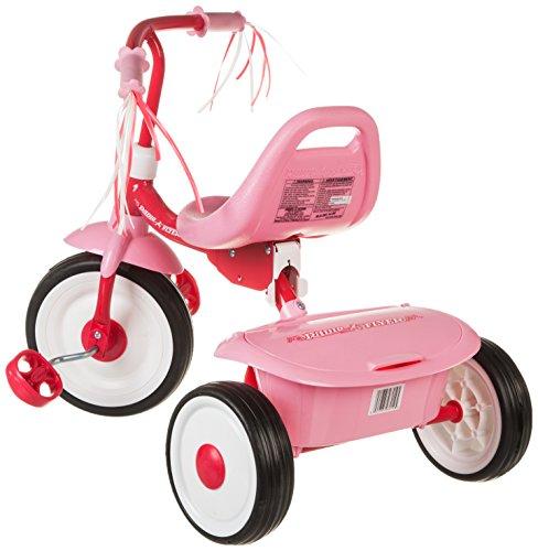 042385980195 - Radio Flyer Girls' Fold 2 Go Trike carousel main 2