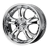 2003 infiniti g35 center cap - American Racing Custom Wheels AR683 Casino Triple Chrome Plated Wheel (16x7