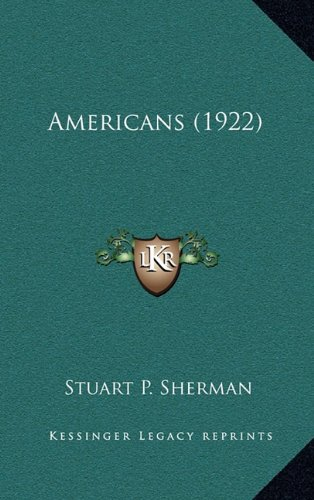 Americans (1922) PDF
