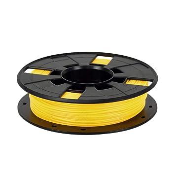 Semoic Filamento Amarillo de la Impresora 3D Más Colores 1.75Mm ...