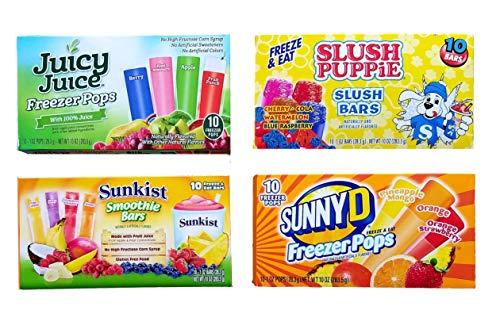 Popsicles & Juice Bars
