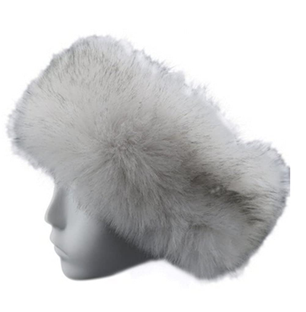 OYSRONG Women ladies Faux Fur Headband Earwarmer Earmuff Hat Ski (white) at  Amazon Women s Clothing store  e353b6d839f2