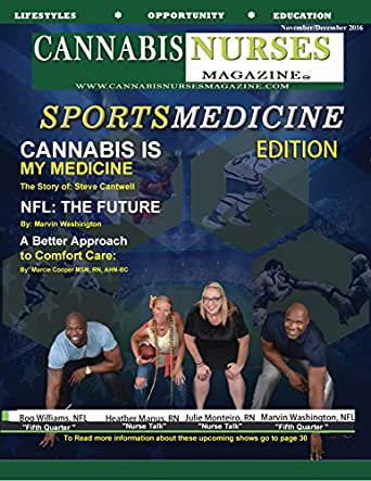 Cannabis Nurses Sports Medicine Edition: NFL Medical Marijuana (Cannabis Nurses Magazine Book 8) (English Edition) eBook: Herman, Robert: Amazon.es: Tienda Kindle