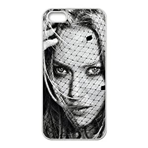 iPhone 4 4s Cell Phone Case White Amanda Seyfried Glamour Girl Face Art Ljbsf