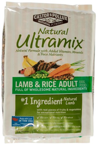 Natural Ultramix Lamb & Rice Adult Dog Food - 30 lb