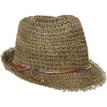 Brooklyn Hat Co Rainbow Twisted Seagrass Fedora Summer Trilby Hat