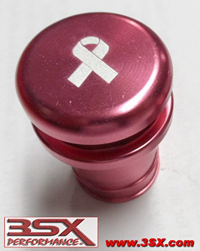 d2627cda87c3 Amazon.com  BREAST CANCER BUTTON 12-volt   Lighter Faux Insert Fits Most  Vehicles  Automotive
