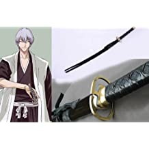 Dream2reality Cosplay Bleach Gin Ichimaru Kamishininoyari Replica Sword T10 Clay Tempered High Carbon Steel Full Handmade Full Tang Katana