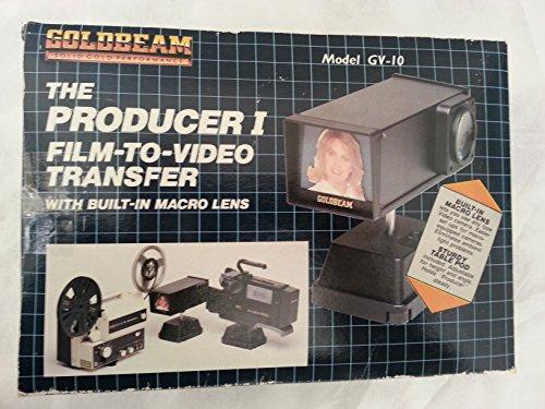 Goldbeam Producer I Film-to-Video Transfer with Built-in Macro Lens - Model GV-10