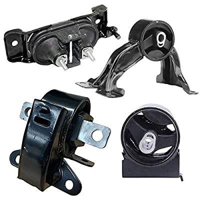 K2686 Fits 2011-2015 Chrysler Town & Country/ 11-17 Dodger Grand Caravan Motor & Trans Mount : A5665 A5480 A5589 A5577: Automotive
