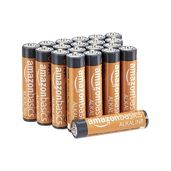 AmazonBasics AAA Performance Alkaline Batteries (20-Pack) - Appearance May Vary