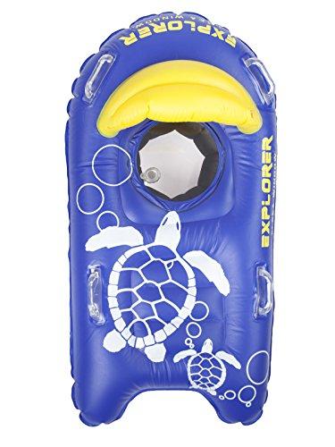 SEA WINDOW Explorer Kids Snorkeling Raft: Next Generation with Camera Mount