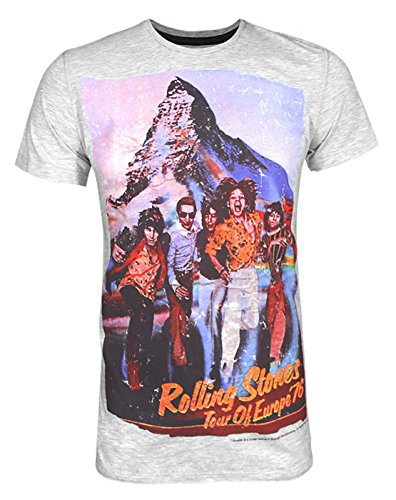 T shirt Amplified Rolling Hommes Stones Clothing XzI00nBwqR