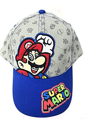 (ABG Accessories Super Mario Boys' Baseball Cap- Toddler)