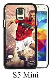 Beautiful Classic Soccer Player Cristiano Ronaldo(2) Black Case For Samsung Galaxy S5 Mini