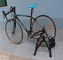 SMLJJ Marco de Entrenamiento de Bicicleta, Rodillo de ...