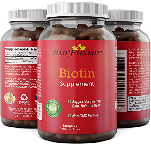 Pure Biotin Supplement Strengthens Digestion