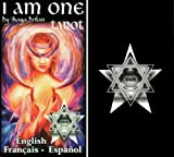 img - for Tarot Cards the I Am One Tarot Deck 78 cards divination tool for psychic readings (English, Spanish and French Edition) book / textbook / text book