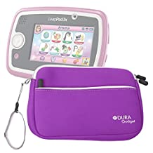 """DURAGADGET Purple 8"""" Neoprene Carry Case with Front Storage Compartment for New Leapfrog EPIC Tablet / LeapPad 3 / LeapPad 3x / LeapPad Ultra XDI"""