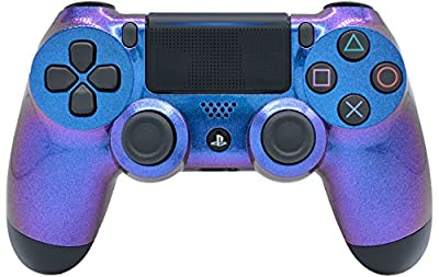 """Enigma"" Ps4 PRO Custom UN-MODDED Controller Exclusive Unique Design with CUSTOM LIGHTBAR"