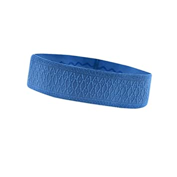 ba02fefc244 Bulary Sports Headband Anti-slip Elastic Sweatband Yoga Hair Bands Women  Men Yoga Running Biking