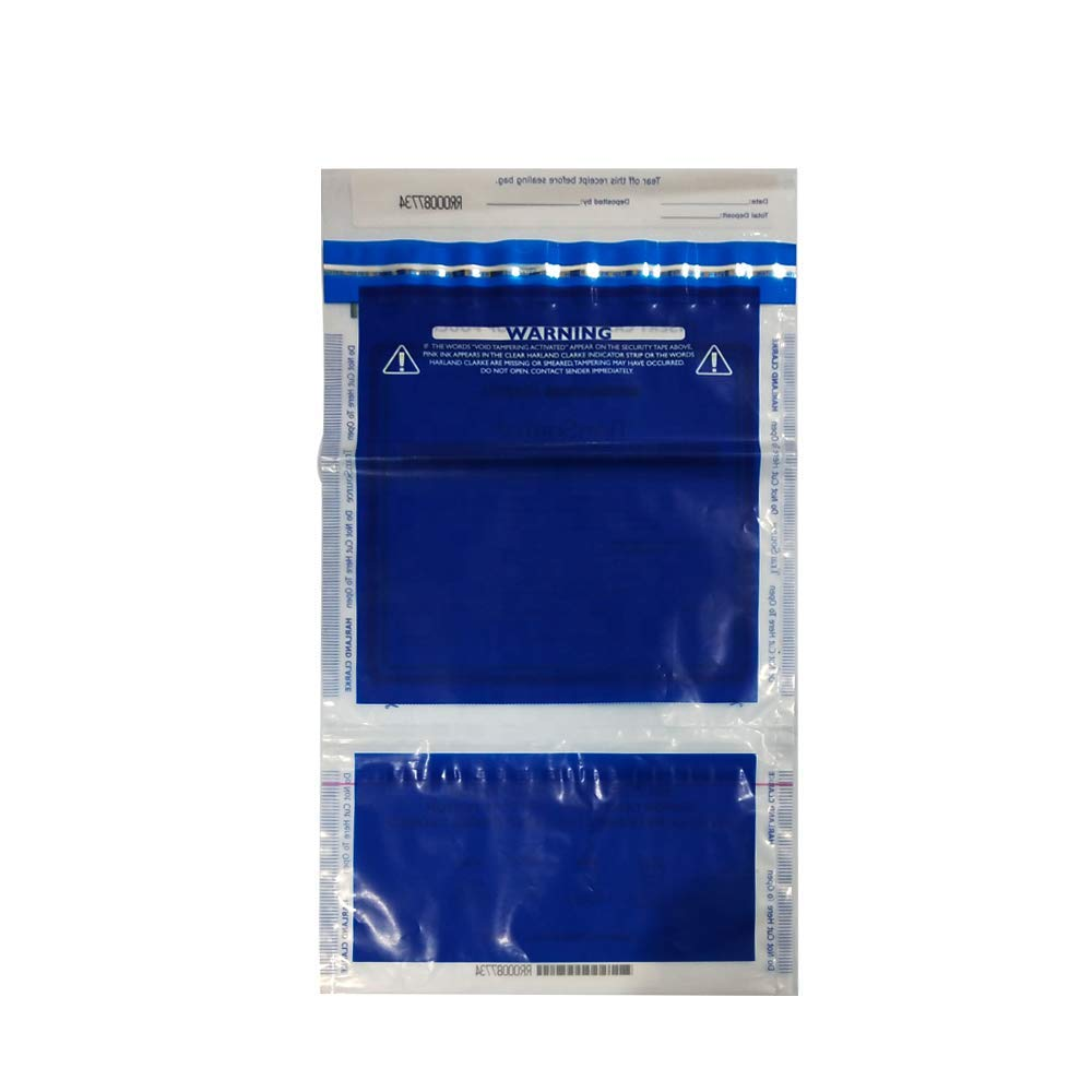 Plastic Money//Evidence Security Envelopes Cash Deposit Seal Bags